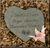Faithful Friend Pet Memorial Stone or Plaque (SKU: DS-3505)