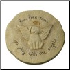 Dog Angel Garden Memorial Stone or Plaque (SKU: GL-453480)