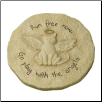 Cat Angel Garden Memorial Stone or Plaque (SKU: GL-453481)