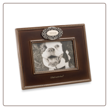 Woof Dog Themed Photo Frame
