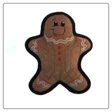 Kyjen Tuff Ones Gingerbread Man