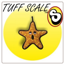 "Tuffy Toy Sea Creatures Dog Toy - The ""General"" Starfish"