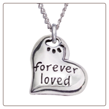 Forever Loved - Sterling Silver Necklace