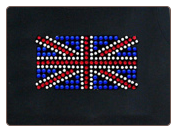 Rhinestone British Flag Dog T-Shirt, Tank Top, Bandana or Hoodie