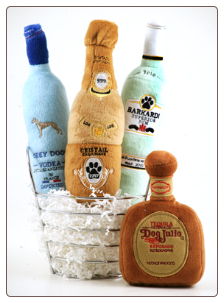 It's Five O'Clock Somewhere Dog-Aholics Gift Basket