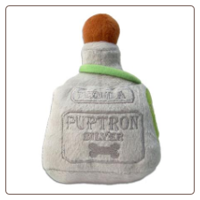 Puptron Tequila Plush Dog Toy by Haute Diggity Dog