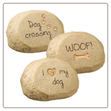 Dog Message Rocks