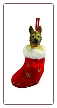 German Shepherd Holiday Ornament