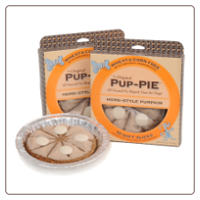 The Original Pup-PIE Home Style Pumpkin Dog Treat by Lazy Dog Cookie Co.