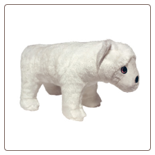 Mighty Toy Arctic Polar Bear - Wilburr McPaw