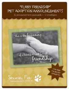 Furry Friendship - Pet Adoption Announcements