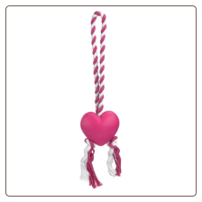 Heart String Tug Valentine's Toy for Dog