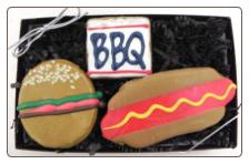 Summer BBQ Dog Treats by Pawsitively Gourmet