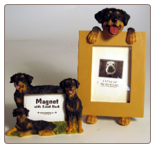 Photo Frame & Magnet Frame Set - Rottweiler