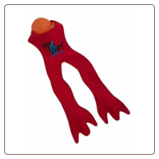 Get Wet Red Frog Legs Toy by Doggles