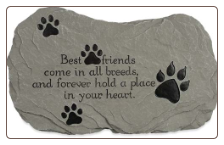 Best Friends Stone or Plaque