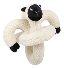 Lamb Sound Plush Talking Dog Toy by Loopies / Swag
