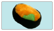 Sushi Pups Uni Plush Dog Toys