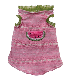 Watermelon Sorbet Tank for Dog