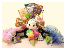 Doggy Royale Birthday Basket