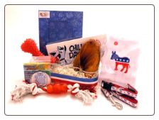 Democrat Doggy Gift Basket