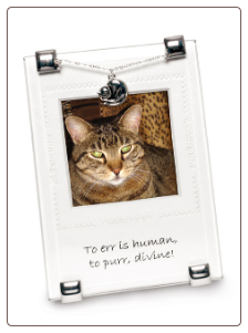 Devine Purr Photo Frame