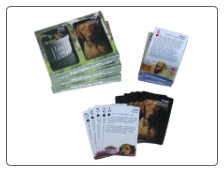Dog Care & Training Tips/Recipes Double Deck Playing Cards