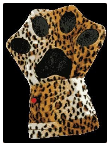 Vibrating Massage Mitt - Kitty Sajer