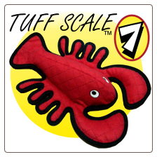 Tuffies Sea Creatures Dog Toy - Larry Lobster