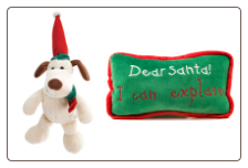 'Dear Santa I can explain' Pillow and Holiday Misfit Pup