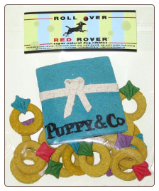 Puppy & Co Dog Treats by Roll Over Red Rover
