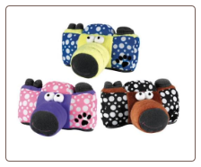 Canine Camera Plush Dog Toy