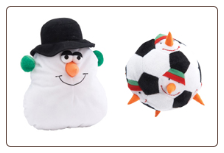 Snowman Yuletide Giggler and Holiday Grunter