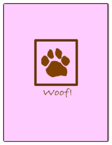 Thank You Cards (Pawprint - Pink)